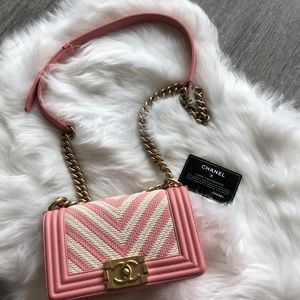 Chanel Leboy pink small size